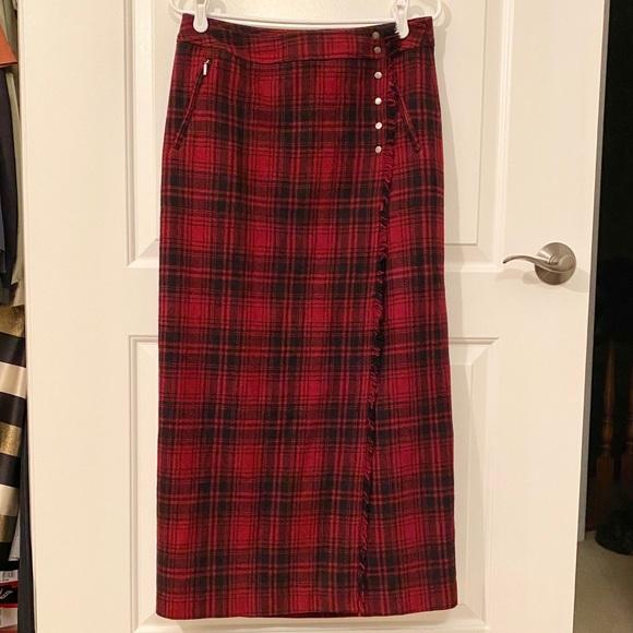 EUC Eddie Bauer Wool Wrap Skirt